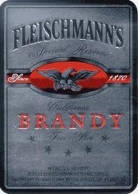Fleischmanns Brandy Five Star